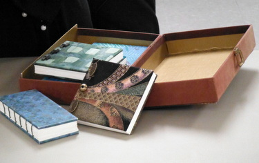 Handmade books by Jill Abilock