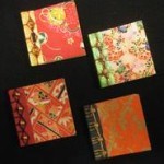 Japanese stab bound books