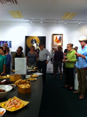 crowd 001 <em>Beasts and Botanicals</em> exhibit opening