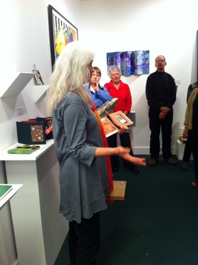 debra 001 <em>Beasts and Botanicals</em> exhibit opening