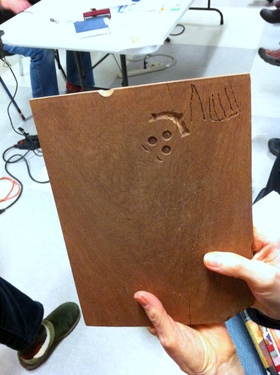 smileyface <em>Meet the Dremel – A Book Artist's Dream Tool</em> with Elissa Campbell and Jill Abilock