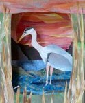 Bird tunnel book