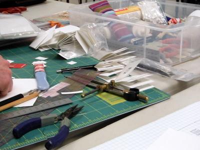 Book arts supplies and tools