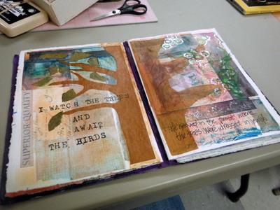 Collages by Marcia Vogler