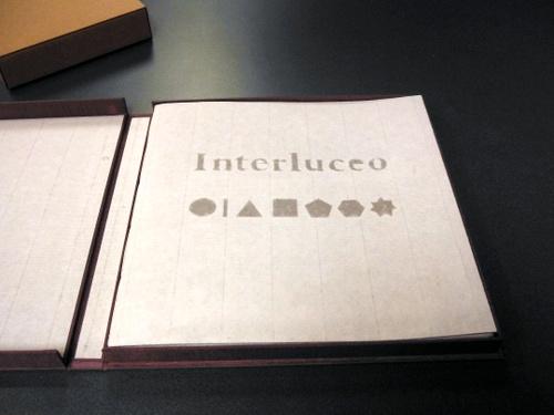"""""""Interluceo"""" by Helen Hiebert & Béatrice Coron"""