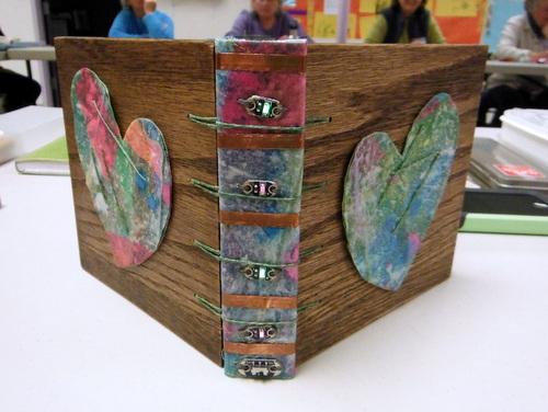 Handmade book by Jill Dawson