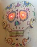 Day of the Dead paper circuit