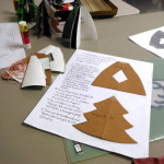 Directions for handmade paper trees