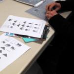 Folding origami cubes