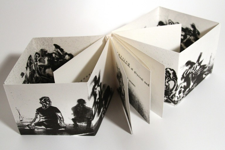 Artist book - movement through arcana by Steve Kostell