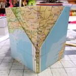Handmade origami book