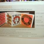 Book Arts Guild of Vermont Exhibit poster