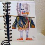 B.A.G. collaborative Exquisite Corpse book by Rebecca Boardman