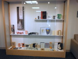 Book Arts exhibit at Saint Anselm College