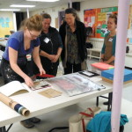 Book Arts Guild of Vermont meeting with Elizabeth Rideout