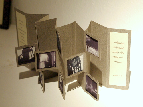 Artists' book by Rebecca Boardman