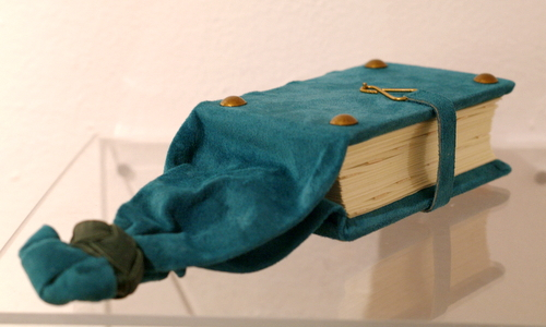 Girdle Book model by Elissa Campbell
