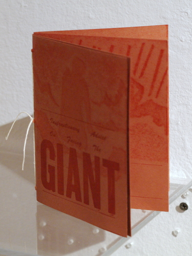 Artists' book by Jordan Vogler