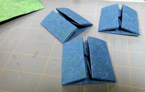 Hand-folded Masu boxes