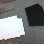 Components for making a  Jacob's Ladder book