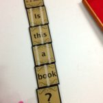 Handmade Jacob's Ladder book