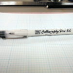 Calligraphy paper and pen