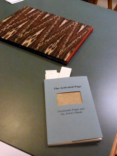 """The Activated Page: Handmade Paper and the Artist's Book"" by Jae Jennifer Rossman"