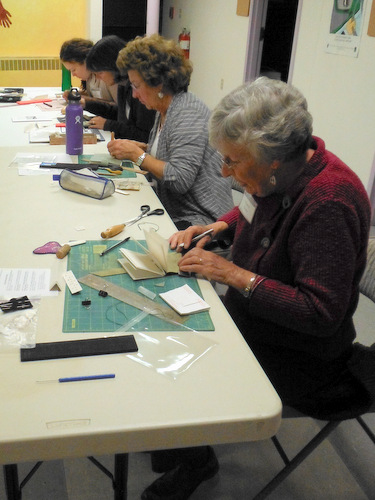 Book Arts Guild of Vermont meeting