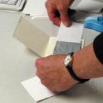 Assembling slider holiday card