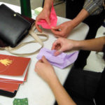 Folding origami boxes