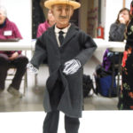 Handmade puppet by Sarah Frechette