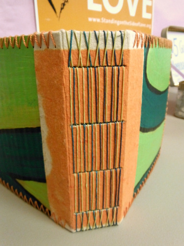 Handmade book by Jane Ploughman