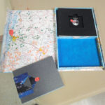 Handmade books and box by Marcia Vogler