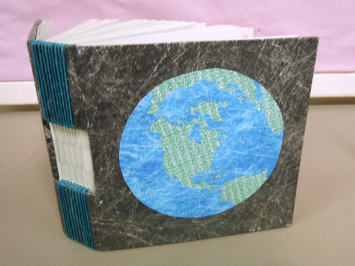 Handmade book by Elissa Campbell