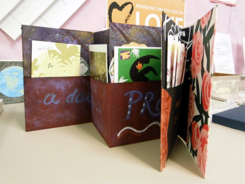 Handmade book by Penne Tompkins
