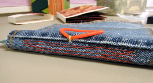 Handmade book by Jill Abilock