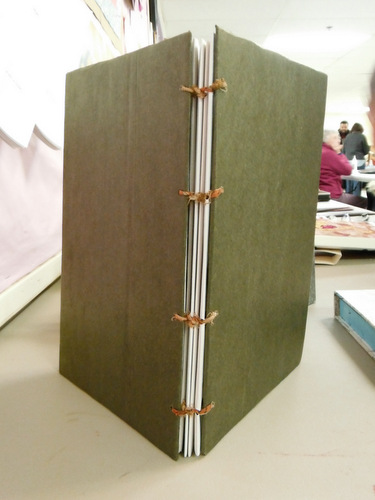 Handmade book by Maria Isabel Keogh