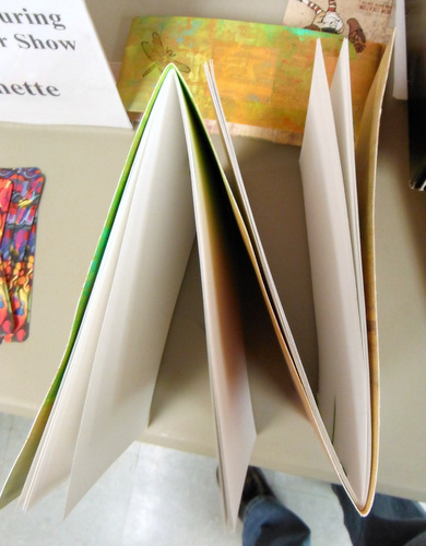 Handmade book by Ann Joppe-Mercure