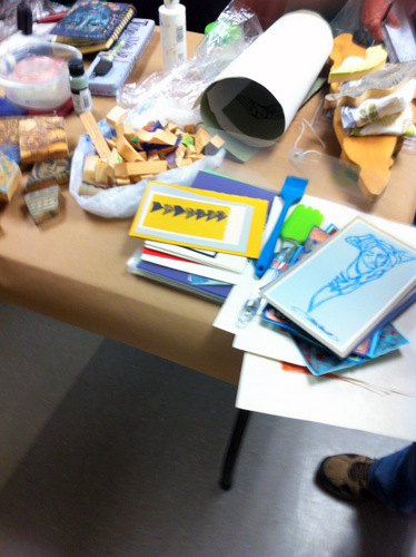 Printmaking supplies