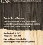 Book Arts Bazaar 2017 poster