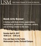 Book Arts Bazaar 2017 poster