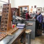 Letterpress studio at Dartmouth College Book Arts Program