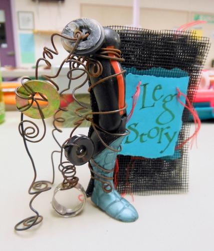 Handmade book by Meta Strick