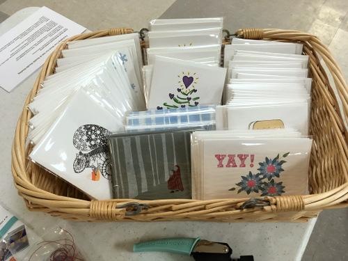 Handmade cards by Amy Burns