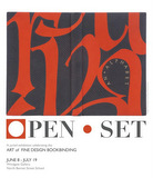 Open • Set Bookbinding Exhibition logo
