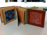 Handmade book of prints