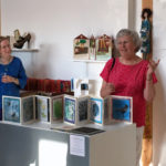 Book Arts Guild of Vermont 2017 exhibit at SEABA