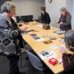 Book Arts Guild of Vermont visit to Dartmouth Special Collections