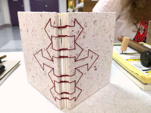 Coptic journal by Jill Abilock