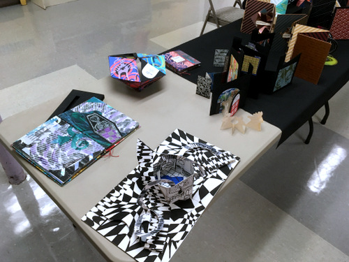 Artist's books by Carolyn Shattuck